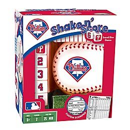MLB Philadelphia Phillies Shake N' Score Dice Game