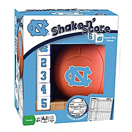 University of North Carolina Basketball Shake N' Score Dice Game