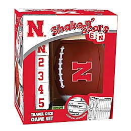 University of Nebraska Football Shake N' Score Dice Game