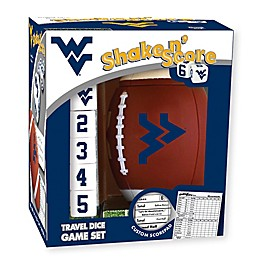 West Virginia University Football Shake N' Score Dice Game