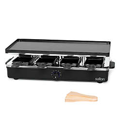 Salton Party Grill/Raclette in Black