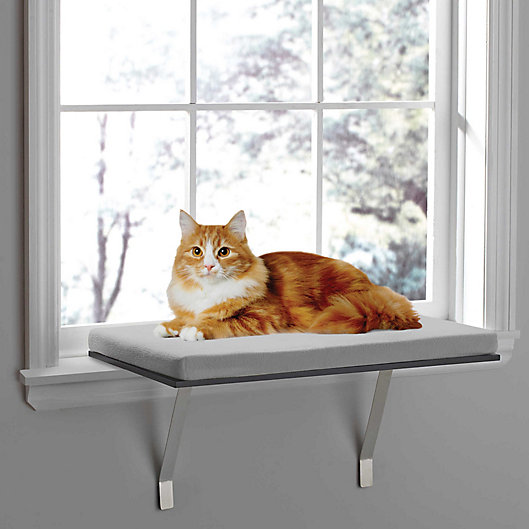 Alternate image 1 for Pawslife® Deluxe Window Cat Perch