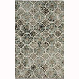 Mohawk® Home Prismatic Quatrafoil Fret Rug in Charcoal/Multicolor