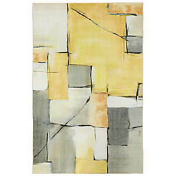 Mohawk® Home Prismatic Painted Geo Area Rug in Yellow/Multicolor
