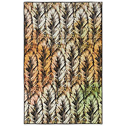 Mohawk Home® Prismatic Painted Feathers Multicolor Area Rug
