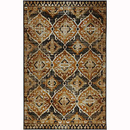 Mohawk Home® 4' x 6' Prismatic Paola Area Rug in Gold