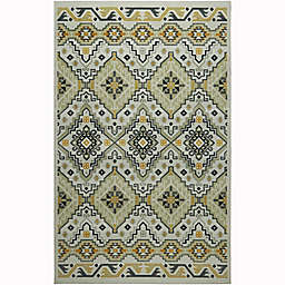 Mohawk Home® 5' x 8' Prismatic Niko Area Rug in Gold