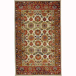 Mohawk Home® 5' x 8' Prismatic Scarlett Area Rug in Gold/Red