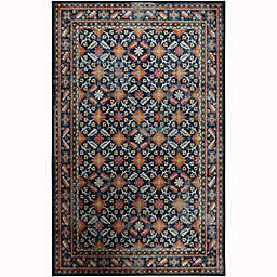 Mohawk Home® 5' x 8' Prismatic Rosested Area Rug in Navy