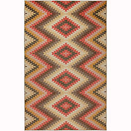 Mohawk Home® 8' x 10' Prismatic Mesa Blanket Area Rug in Gold