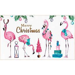 Mohawk Prismatic Merry Flamingos Accent Rug