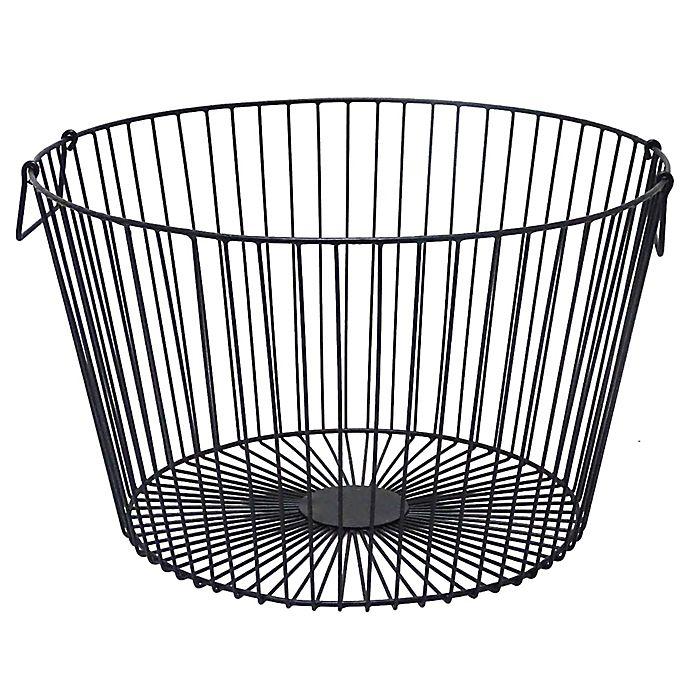 Alternate image 1 for O&O by Olivia & Oliver Large Towel Basket