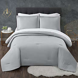 Truly Calm® Antimicrobial Seersucker 5-Piece Reversible Comforter Set