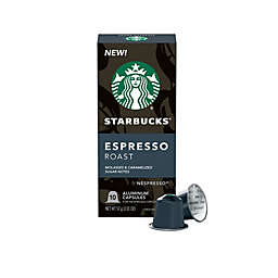 Starbucks® by Nespresso® Espresso Roast Capsules 10-Count