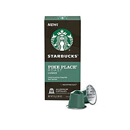 Starbucks® by Nespresso® Pike Place Coffee Capsules 10-Count