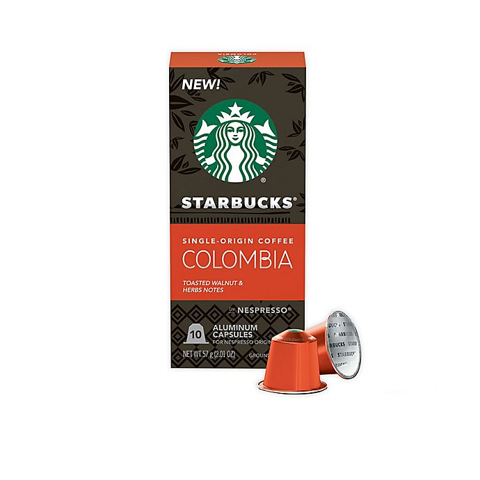 Alternate image 1 for Starbucks® by Nespresso® Colombia Coffee Capsules 10-Count