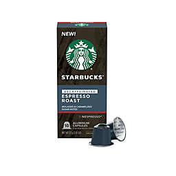 Starbucks® by Nespresso® Decaf Espresso Roast Capsules 10-Count