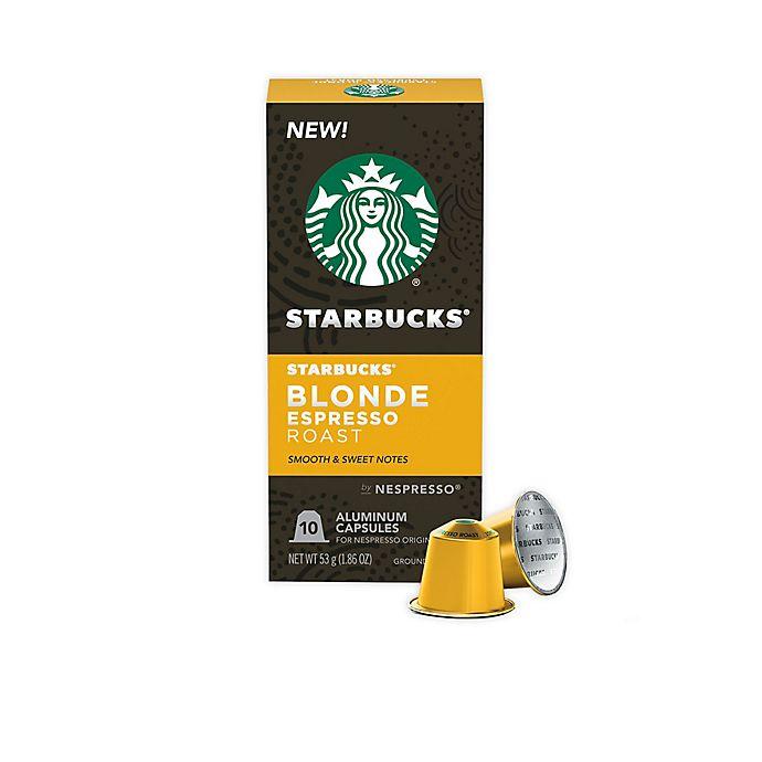 Alternate image 1 for Starbucks® by Nespresso® Blonde Espresso Capsules 10-Count