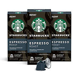 Starbucks® by Nespresso® Espresso Roast Capsules 30-Count