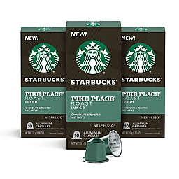 Starbucks® by Nespresso® Pike Place Coffee Capsules 30-Count