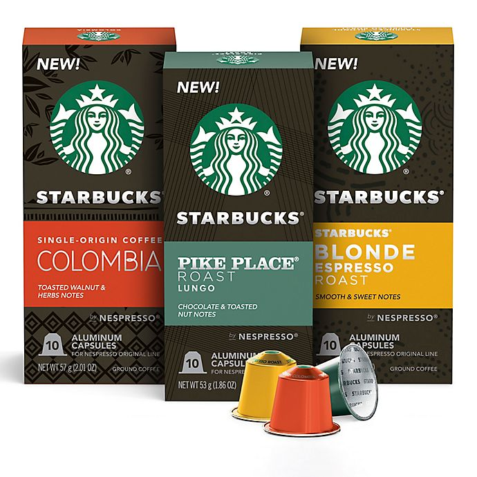 Alternate image 1 for Starbucks® by Nespresso® Coffee Capsules Collection