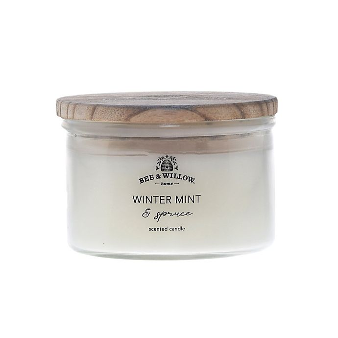 Alternate image 1 for Bee & Willow™ Home Winter Mint and Spruce 12 oz. Jar Candle