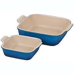 Le Creuset® Heritage 2-Piece Square Baking Dish Set