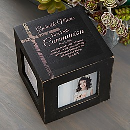 Holy Day Personalized Photo Cube