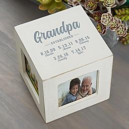 Established Personalized Photo Cube