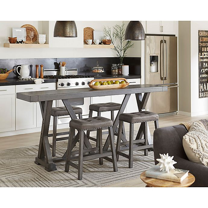 Alternate image 1 for Progressive Furniture Fiji Harbor Counter Table and Stool Collection in Grey