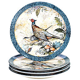 Certified International Harvest Gatherings Dinner Plates (Set of 4)