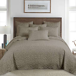Homthreads Beckett 3-Piece Reversible Queen Bedspread Set in Taupe