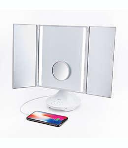 Espejo de tocador iHome color blanco