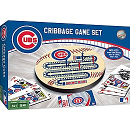 MLB Chicago Cubs Cribbage Game Set