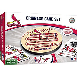 MLB St. Louis Cardinals Cribbage Game Set