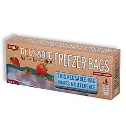 Russbe Resuable Gallon Bags in Blue (Set of 8)