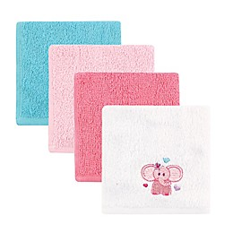 Luvable Friends® 4-Pack Animal Washcloths