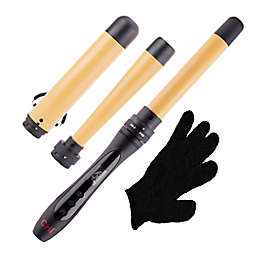 CHI® Interchangeable Curling Wand Set in Black