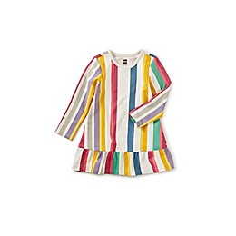 Tea Collection Ruffle Hem Stripe Dress