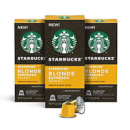Starbucks® by Nespresso® Blonde Espresso Capsules 30-Count