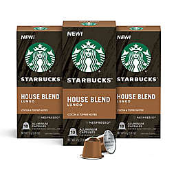 Starbucks® by Nespresso® House Blend Coffee Capsules 30-Count