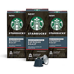 Starbucks® by Nespresso® Decaf Espresso Capsules 30-Count