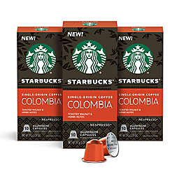 Starbucks® by Nespresso® Single-Origin Colombia Coffee Capsules 30-Count