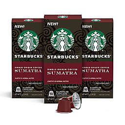 Starbucks® by Nespresso® Single-Origin Sumatra Espresso Capsules 30-Count