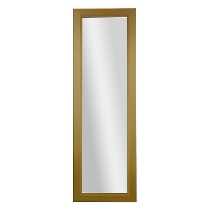 Alternate image 1 for PTM Images Diamond 53.25-Inch x 17.25-Inch Rectangular Over-The-Door Mirror