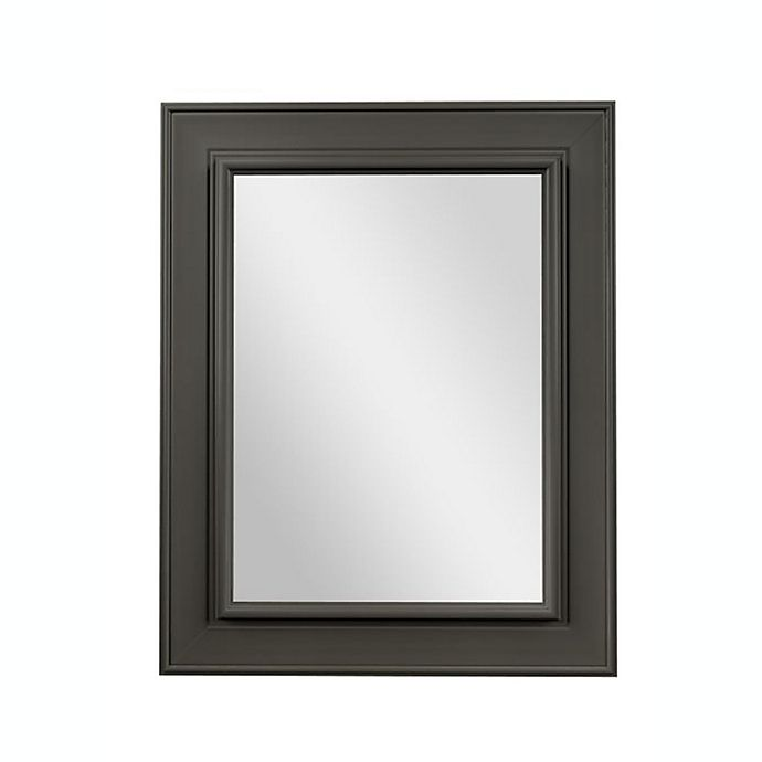 Alternate image 1 for PTM Images Lucious 28-Inch x 22-Inch Wall Mirror in Pewter