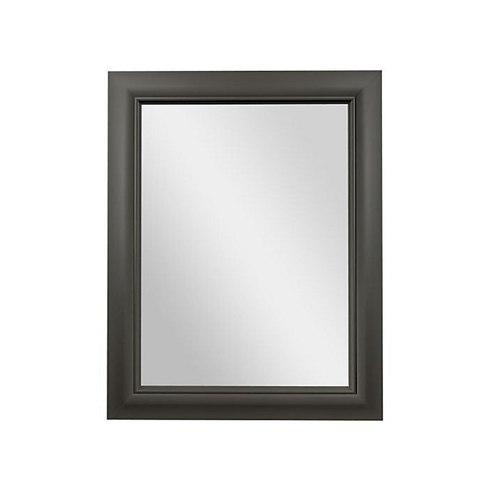 Alternate image 1 for PTM Images Prismatic 28-Inch x 22-Inch Rectangular Wall Mirror in Pewter