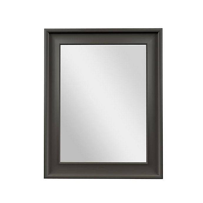 Alternate image 1 for PTM Images Fantasy 28-Inch x 22-Inch Rectangular Wall Mirror in Pewter