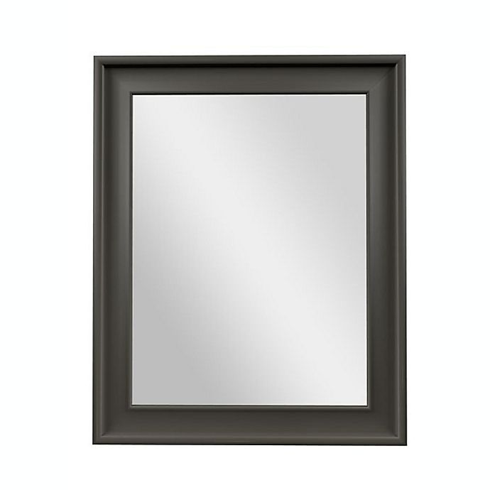 Alternate image 1 for PTM Images Flamingo 30-Inch x 24-Inch Wall Mirror in Pewter