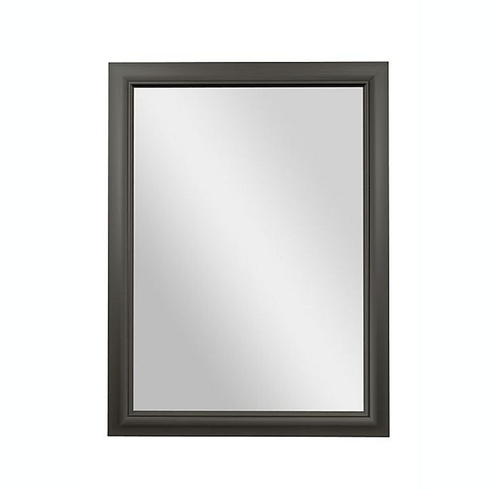 Alternate image 1 for PTM Images Sapphire 40-Inch x 30-Inch Rectangular Wall Mirror in Pewter